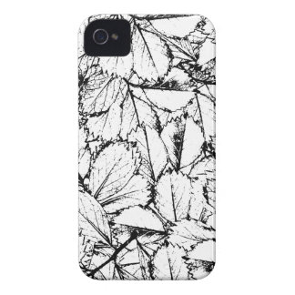 White Leaves iPhone 4 Case