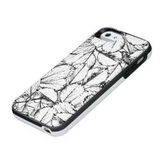 White Leaves iPhone SE/5/5s Battery Case
