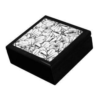 White Leaves Keepsake Boxes