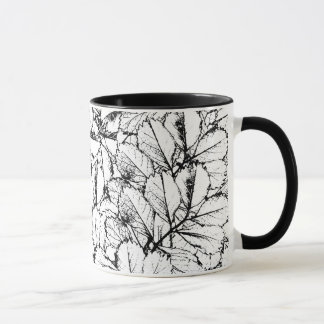 White Leaves Mug