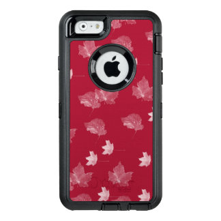 White Leaves OtterBox Defender iPhone 6/6s Case