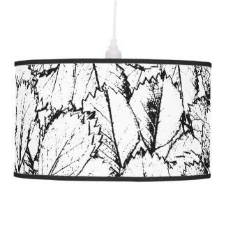 White Leaves Pendant Lamp