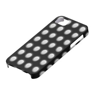 White Leds on Black iPhone 5 Cover