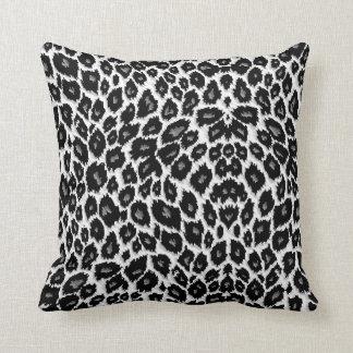 White Leopard American MoJo Pillow