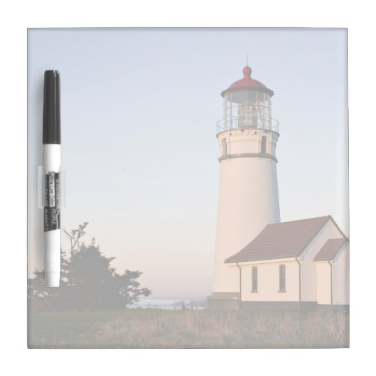 White lighthouse with attached building Dry-Erase whiteboards