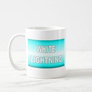 White Lightning Coffee Mug