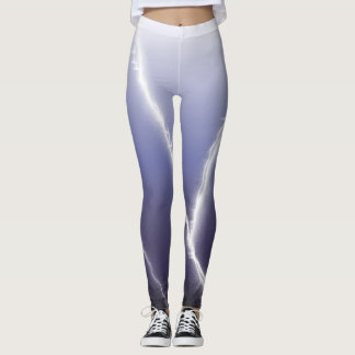 White Lightning Leggings
