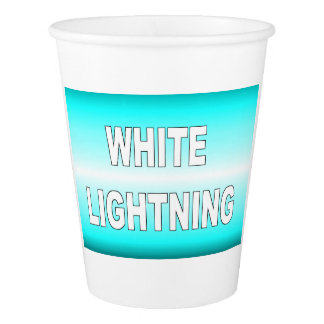 White Lightning Paper Cup