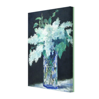 White Lilac by Edouard Manet Canvas Print