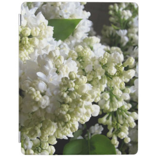 white lilac iPad cover