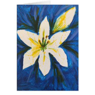 White Lily by Jane Card