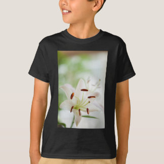 White Lily Flower Fully Open T-Shirt