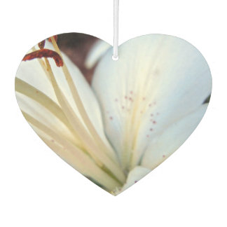 white lily pretty air freshener