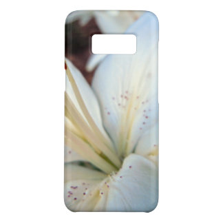 white lily pretty Case-Mate samsung galaxy s8 case