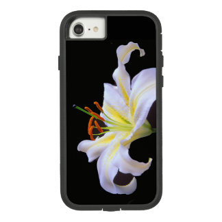 White Lilys  Apple iPhone Barely There Phone Case