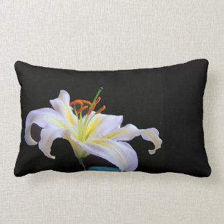 White Lilys image for Polyester Throw Pillow