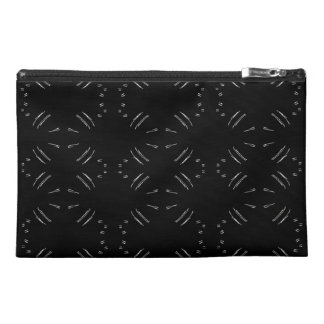 White  Lines Travel Accessory Bag