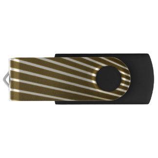 White Lines USB Flash Drive