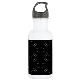 White Lines Water Bottle