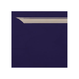 white lines wood wall art