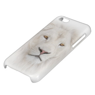 White Lion Head Glossy iPhone 5C Case