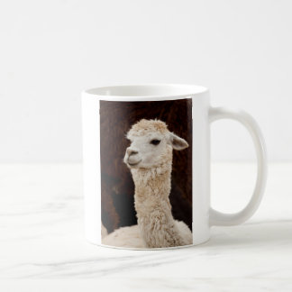 White Llama Coffee Mug