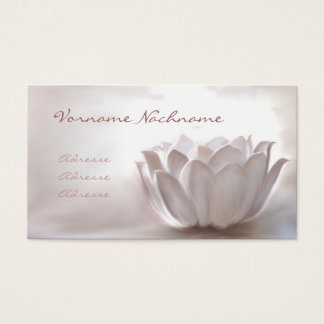 White Lotus Business Card