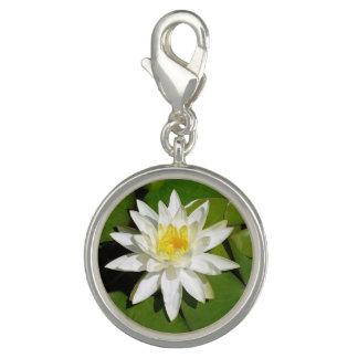 White Lotus Charm