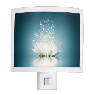 White Lotus Magic Night Light