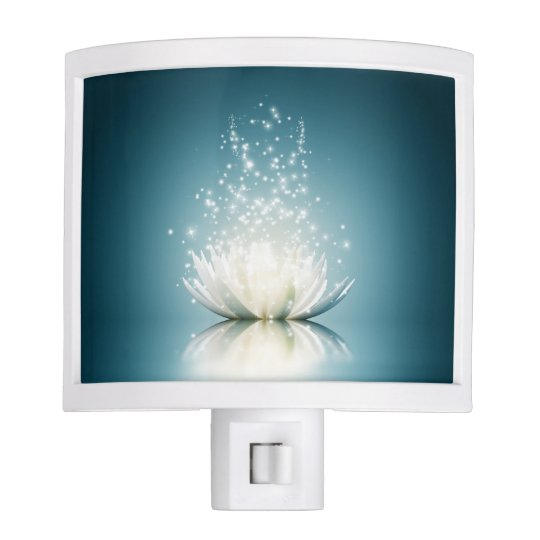 White Lotus Magic Night Light