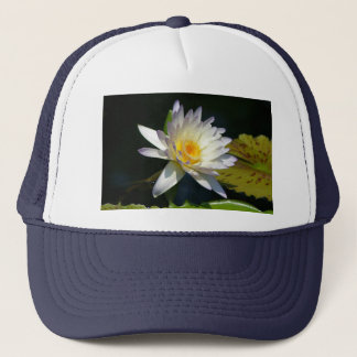 White Lotus Waterlily Hat