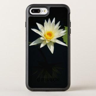 White Lotus Waterlily OtterBox Symmetry iPhone 8 Plus/7 Plus Case