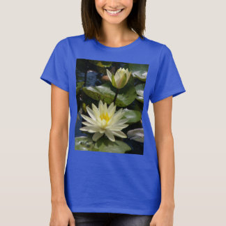 White Lotus Waterlily T Shirt