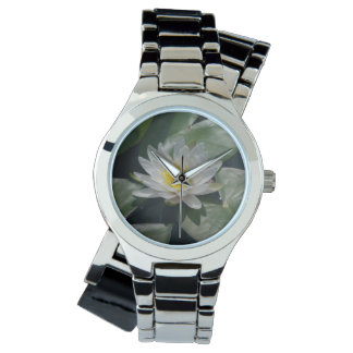 White Lotus Waterlily Watch
