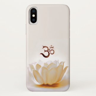 White Lotus with OM iPhone X Case