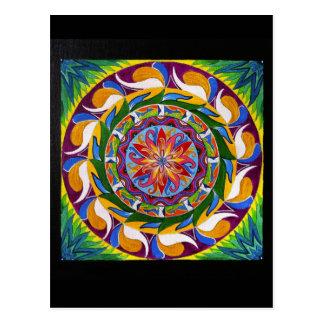 White Magic Mandala (Postcard) Postcard