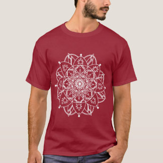 White Mandala T-Shirt