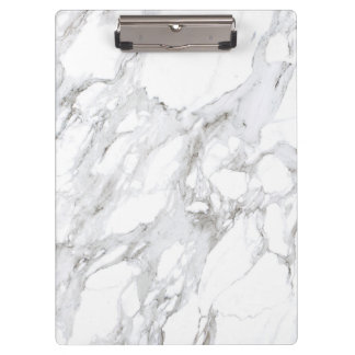 White Marble Clipboard