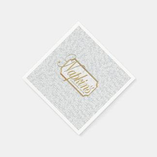 White Marble Decorative Paper Napkin 3