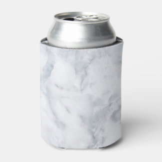White Marble Look Can Cooler