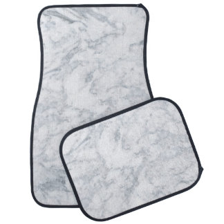 White Marble Look Car and Truck Mats