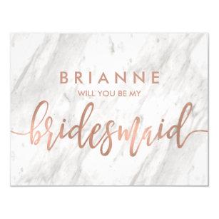 Bridesmaid Invitations Announcements Zazzle Ca