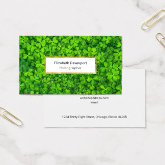 White Marble Texture Professional Business Card