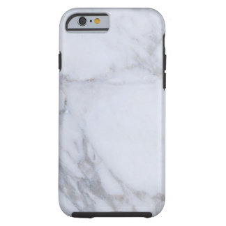 White Marble Tough iPhone 6 Case