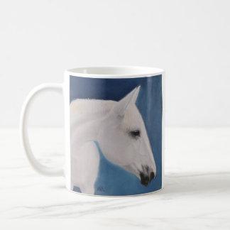 White Mare Coffee Mug