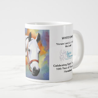 White Mare Commemorative Mug