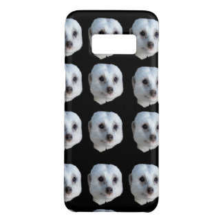 White Meerkat Faces, Case-Mate Samsung Galaxy S8 Case