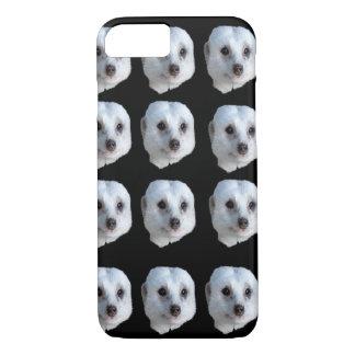 White Meerkat Faces, iPhone 8/7 Case