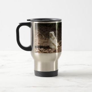 White_Meerkat_Grins,_Travel_Comuter_Mug Travel Mug