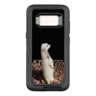 White Meerkat Popout Art, Samsung Galaxy S8 Case